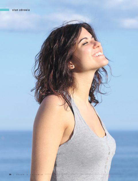Magazyn Dbam o Zdrowie – O korzyściach płynących z pełnego, swobodnego oddychania